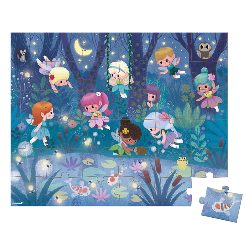 Janod - Fairies Puzzle