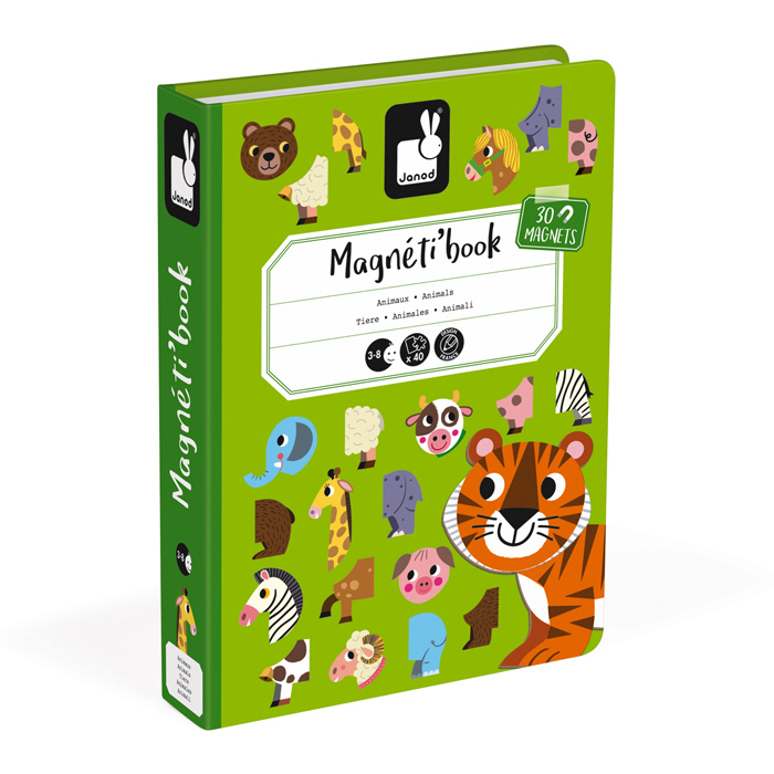 Janod - Animals Magnetibook