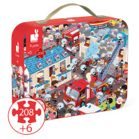 Janod - Observation Firefighter Puzzle