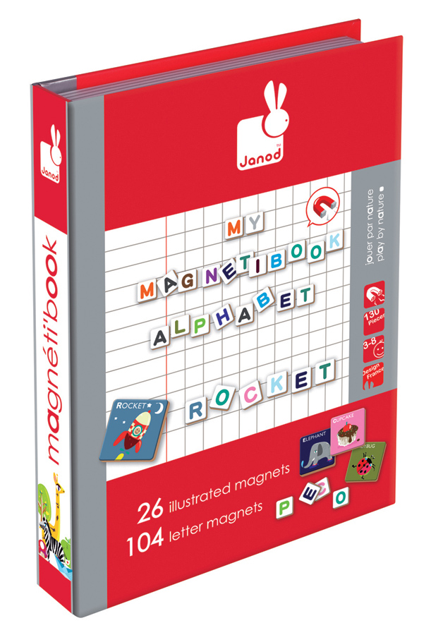 Janod - Magnetic Alphabet Book