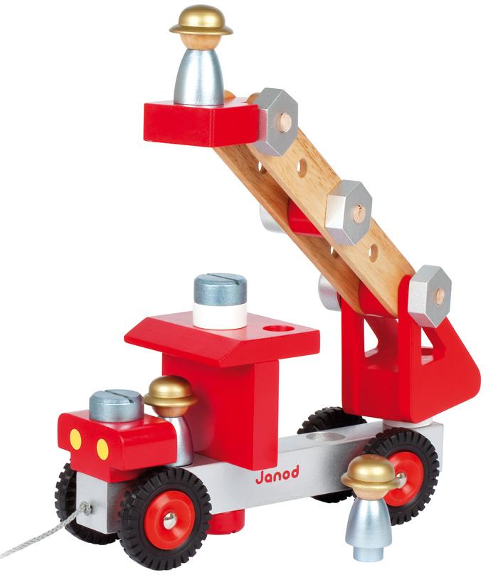 Janod - DIY Fire Truck | Janod Store