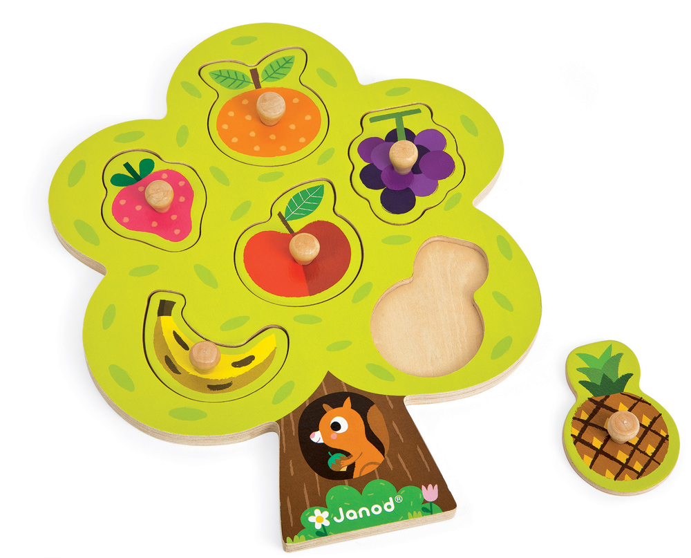 Janod - Fruit Tree Puzzle