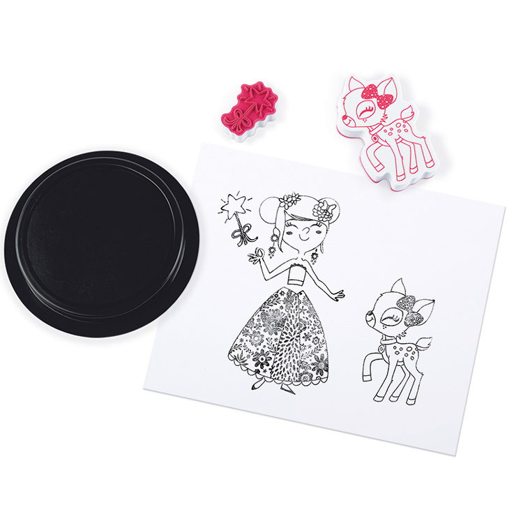 Janod - Stamps Stampinoo Ladies (30 Pcs)