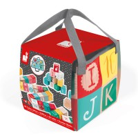 Janod - 40 ABC Blocks with Bag