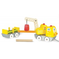 Janod - Log Truck And Crane