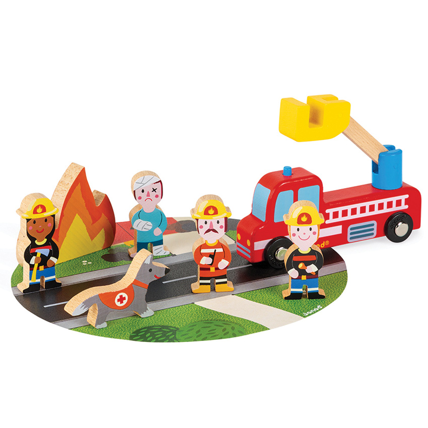Janod - Firefighters Set