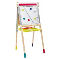 Janod - Height Adjustable Black/White Board
