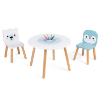 Janod - Table and Chairs Polar